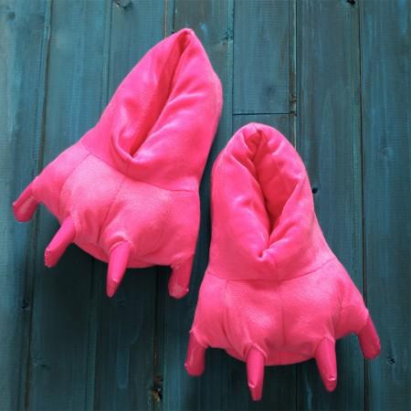 Rose red  Animal Onesies Kigurumi slippers shoes