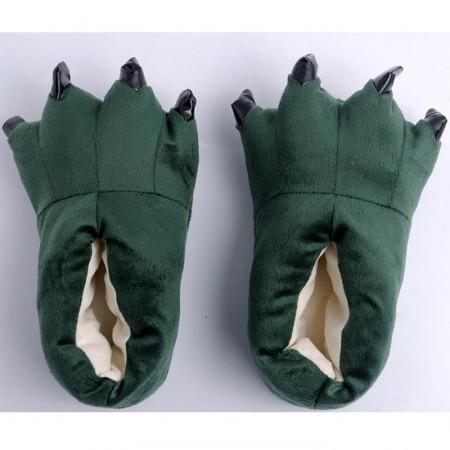 Dark green Animal Onesies Kigurumi slippers shoes