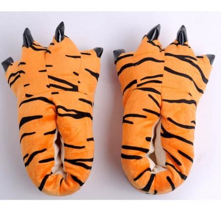 Orange Tigger Animal Onesies Kigurumi slippers shoes