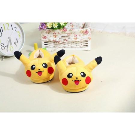 pikachu warm shoes plush slippers