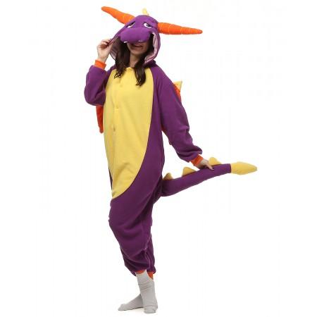 Purple Dinosaur Onesie