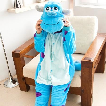Monsters University James P. Sullivan Pajamas Animal Onesies Costume Kigurumi