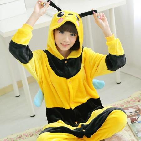 little bee Pajamas Animal Onesies Costume Kigurumi