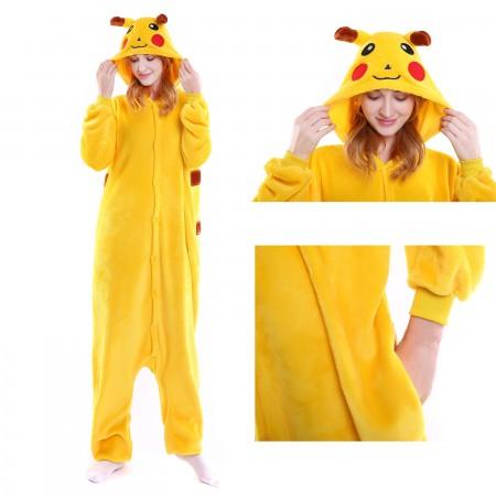 Pikachu Onesie Kigurumi Animal Pajama Women & Men Costumes
