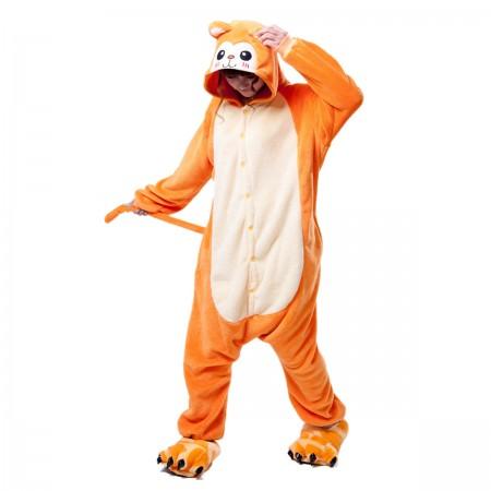 Orange Monkey Onesie