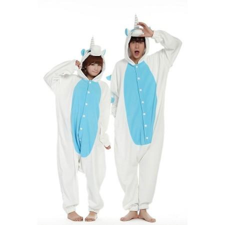 Blue Unicorn Kigurumi Costume