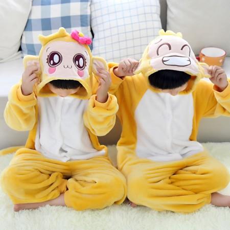 Cute monkey Onesie Pajamas Animal Kids Kigurumi