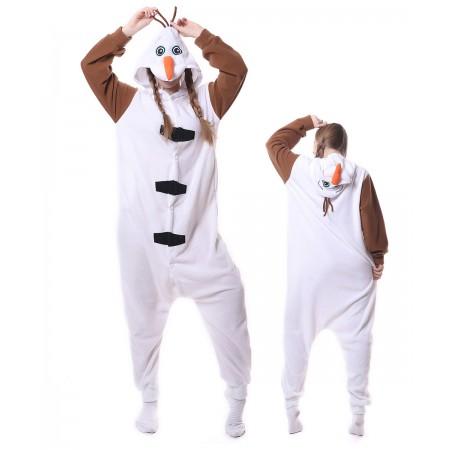 Olaf Onesie Pajama Animal Costumes For Women & Men