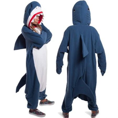 Shark Kigurumi Onesie