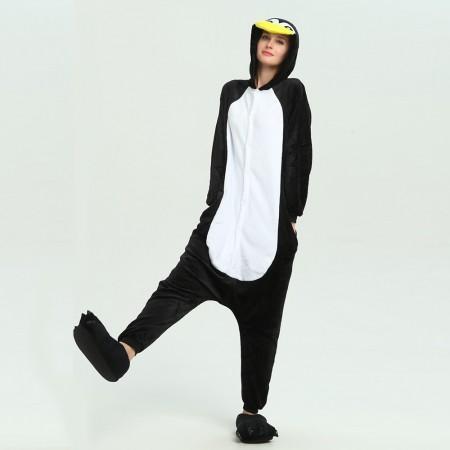 kigurumi black white Penguin onesies animal pajamas for adults